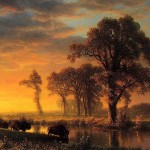 Western Kansas, by Albert Bierstadt