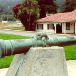 Old Spanish cannon Birgen de Barbaneda, 1693
