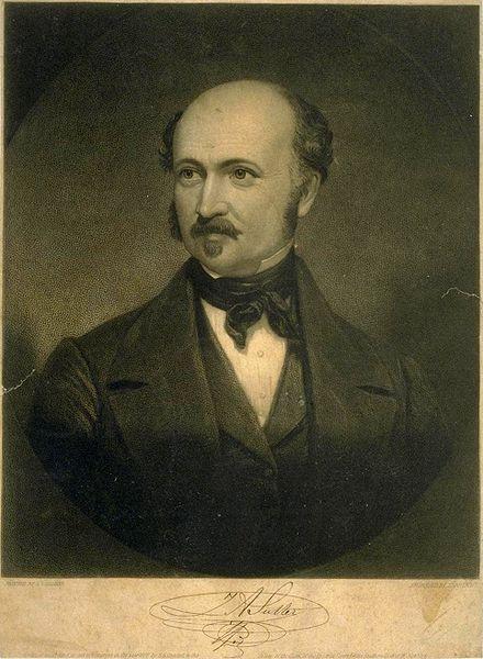 Johann August Sutter ca. 1835