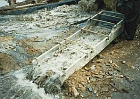 a long tom sluice box