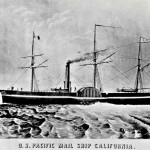 The Pacific Mail steamship California