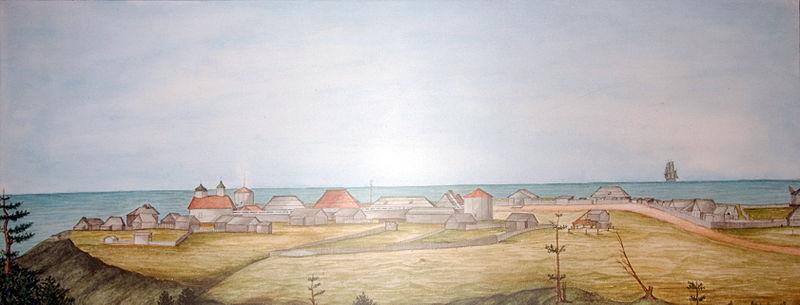 Fort Ross 1841