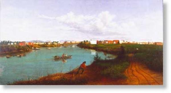 Stockton, California in 1856