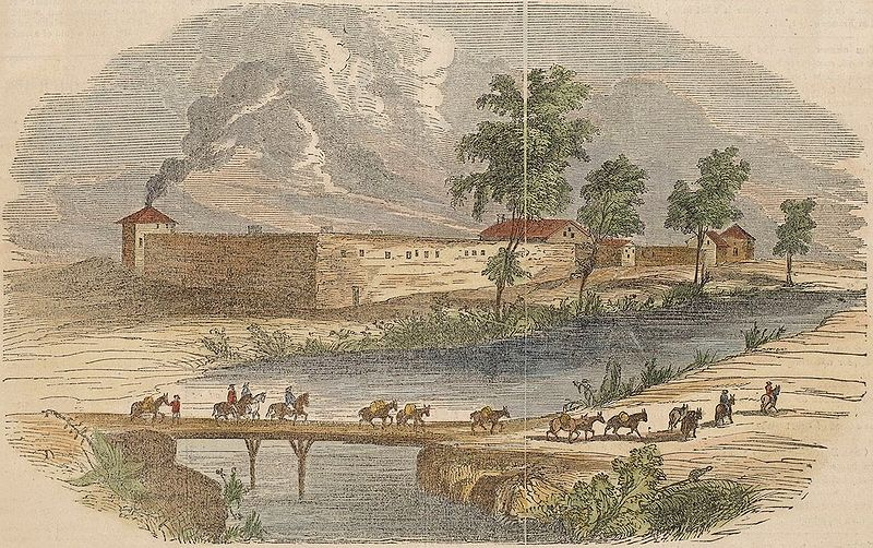 Sutter's Fort, near Sacramento City, California