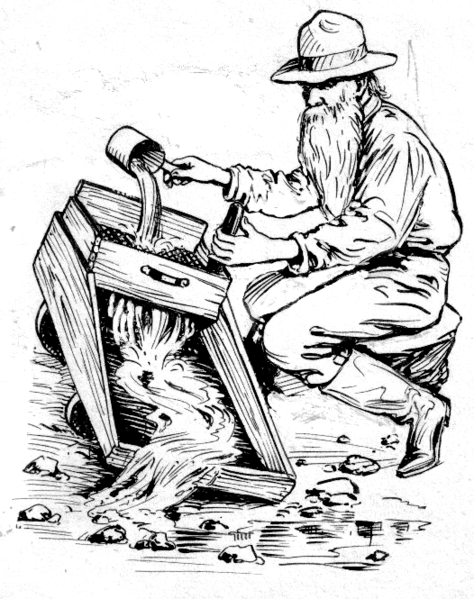 gold mine coloring pages