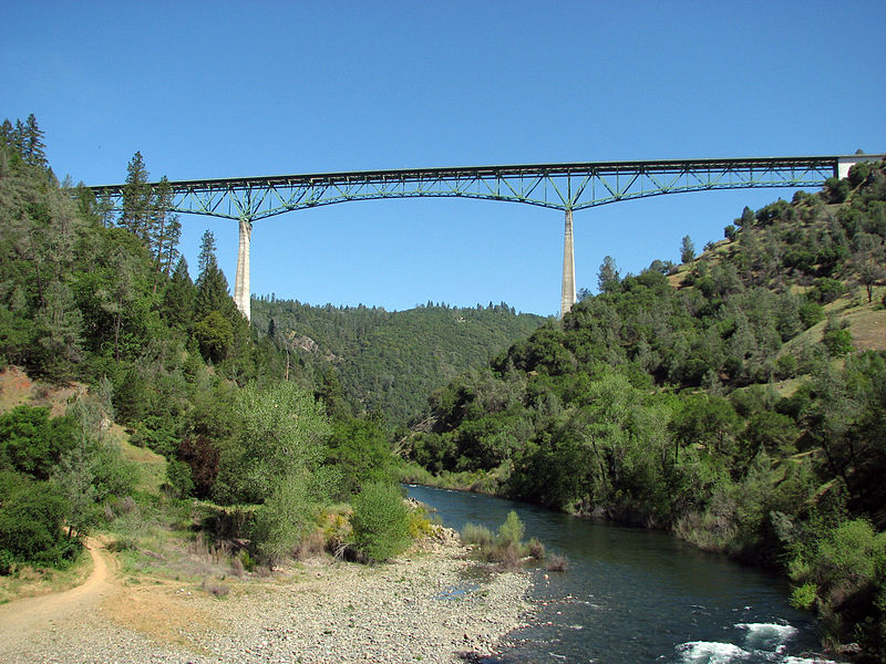 The North Fork of the American River