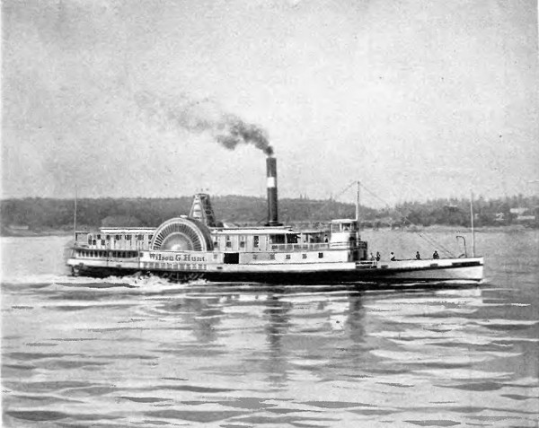 The steamboat Wilson G. Hunt