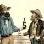 Drinking and gambling in the gold rush