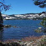 California's Gold Lake near the Sierra Buttes