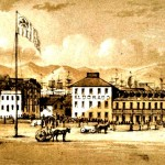 Portsmouth Square in 1849