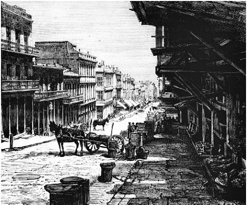 Sacramento Street, San Francisco, 1855