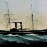 Pacific Mail Steamship Golden Gate 1850s