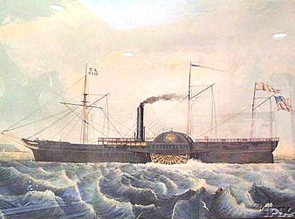 Pacific Mail Steamship Tennessee