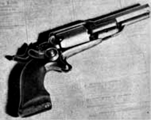 The Navy Colt that killed James King