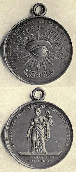 Medallion of the Committee of Vigilance