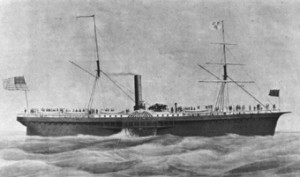 Pacific Mail Steamship SS Sonora