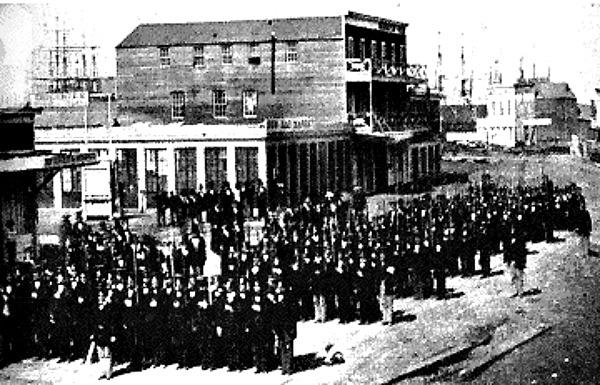Military units of the vigilantes 1856