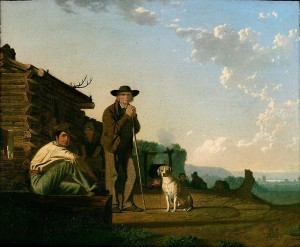 The Squatters - George Caleb Bingham