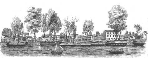 1849 Sacramento waterfront