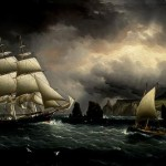 The clippership Flying Cloud