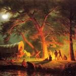 The Oregon trail, Albert Bierstadt