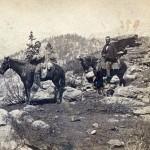 The Sierra summit along Johnson Cutoff